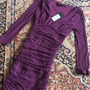 NWT Guess 3/4 Sleeve BodyCon Dress